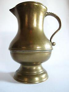 Symbol Der Marke Ältere Massive Messing Bronze Kanne Vase Dekoration Von Der Konsumierenden öFfentlichkeit Hoch Gelobt Und GeschäTzt Zu Werden Gefertigt Nach 1945 Metallobjekte