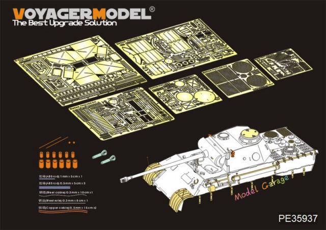 Voyager Pe35937 1 35 German Panther D Tanks Detail Set For Meng Ts 038