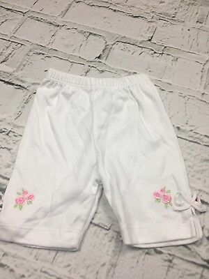 Baby Girl 100/% Cotton Leggings Elasticated Waist Bow Detail 0-3 3-6 6-9 Months