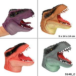 Dino World Dinosaurier  Handpuppe Depesche  Dinosaurierpup<wbr/>pe Maske Handmaske