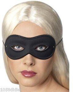 antifaz-Domino-Saten-NEGRO-Disfraz-Hombre-Mujer-Traje-Carnaval-Halloween