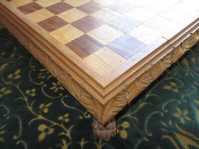 Antica Scacchiera Neorinascimento Old Neo Renaissance Chessboard Alta Sicurezza