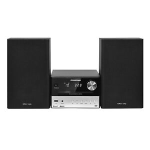 grundig cms 3000 bt dab kompaktanlage bluetooth cd mp3 usb fm radio 30w rms ebay. Black Bedroom Furniture Sets. Home Design Ideas