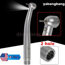 Dental Fiber Optic Led Handpiece Turbina Turbine 2 Hole Ybb Yabangbang Nsk Style