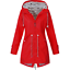 Plus-Size-Womens-Long-Sleeve-Hooded-Wind-Jackets-Outdoor-Waterproof-Rain-Coat thumbnail 10