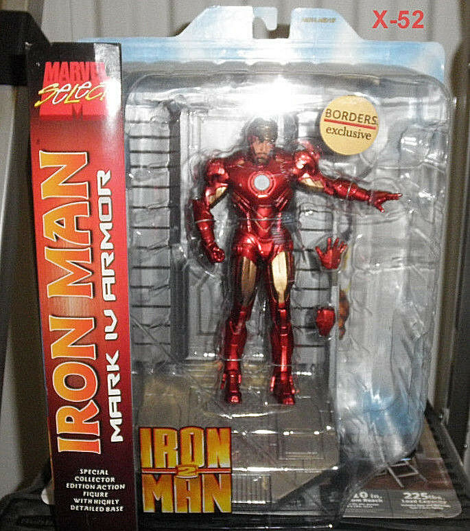 IRON MAN 2 movie FIGURE toy Exclusive ROBERT DOWNEY jr AVENGERS marvel MCU