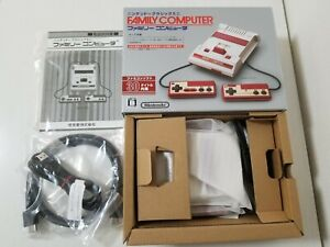 Nintendo Classic Mini Family Computer Famicom Mini HDMI Console CIB Japan 428A17