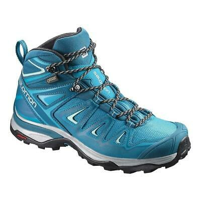 Salomon X Ultra 3 Mid Gtx Womens Hiking Boot Turquoise 38 US 6.5 UK 5 | eBay