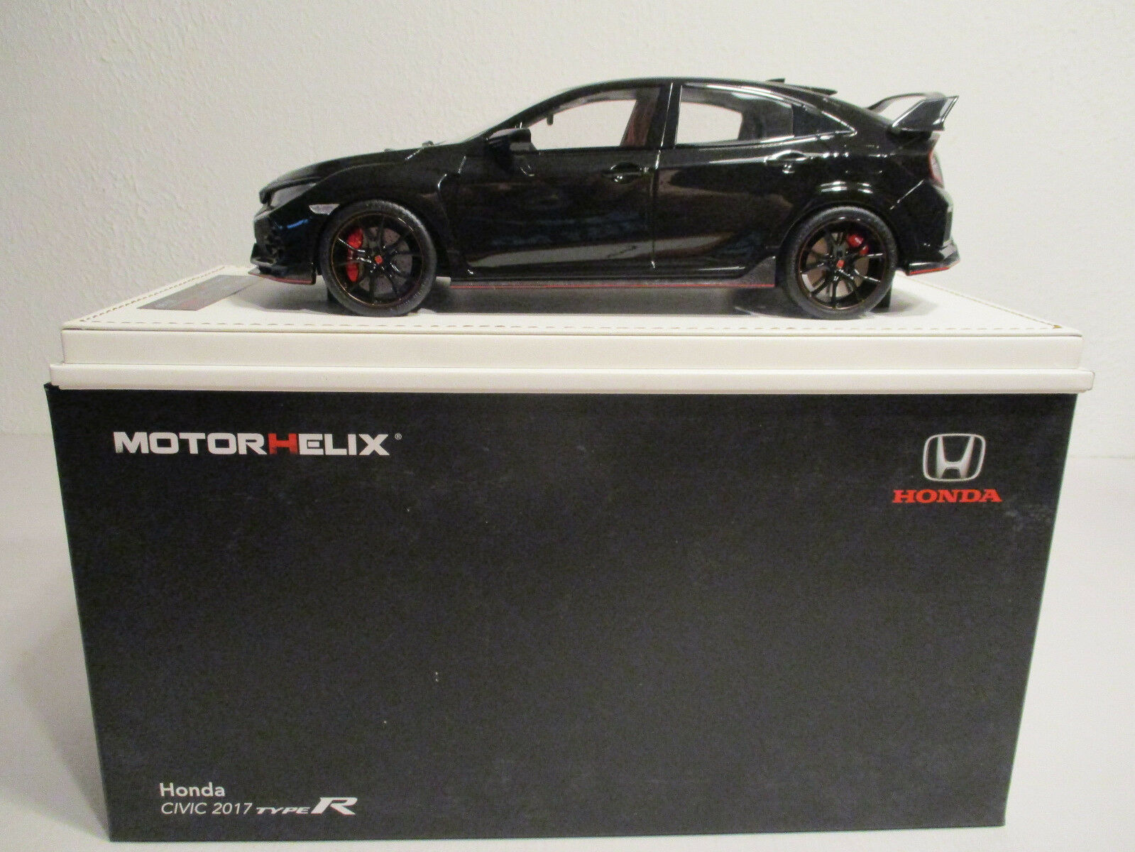 solo cómpralo ( Gok ) 1 18 Motorhelix Honda Civic Tipo R R R Negro Nuevo Emb. Orig.  El nuevo outlet de marcas online.