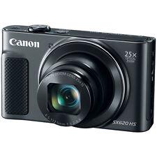 Canon PowerShot SX620 HS 20.2MP Digital Camera, 25x Optical Zoom & Wi-Fi - Black