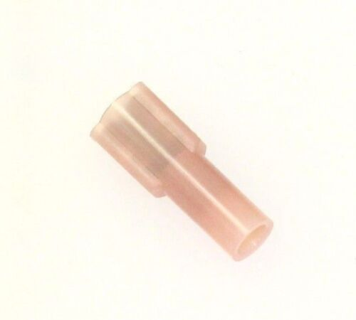 QTY-100 3M FDI18-187C Fully Insulated Nylon Female Disconnect Crimp Terminals