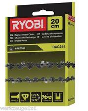 Ryobi Sägekette,Ersatzkette 20cm lang,RAC 244,für RPP750S Hoch-Entaster