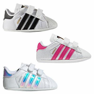 adidas Originals Superstar Crib Lauflernschuhe Babyschuhe Krabbelschuhe Schuhe | eBay