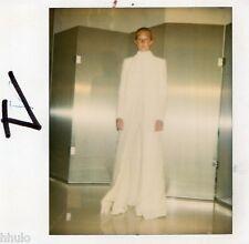 POL258 Polaroid Photo Vintage Original mode fashion mannequin model femme woman