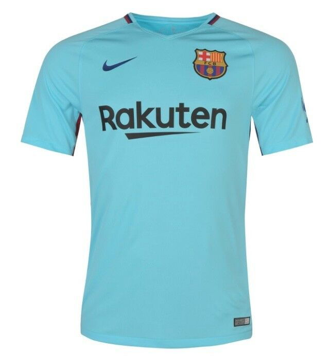 reputable site e55c6 85b41 Nike FC Barcelona Away Away Kit 2017 2018 all Sizes Blue New