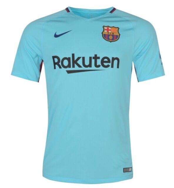 Fc Barcelona Nike Away Shirt 2017 18 Large Jersey Camiseta Soccer