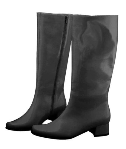 Black Go Go Adult Womens Boots