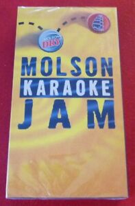 Rare-VHS-Sealed-Movie-Molson-Karaoke-Jam-Bobepine-Provocante