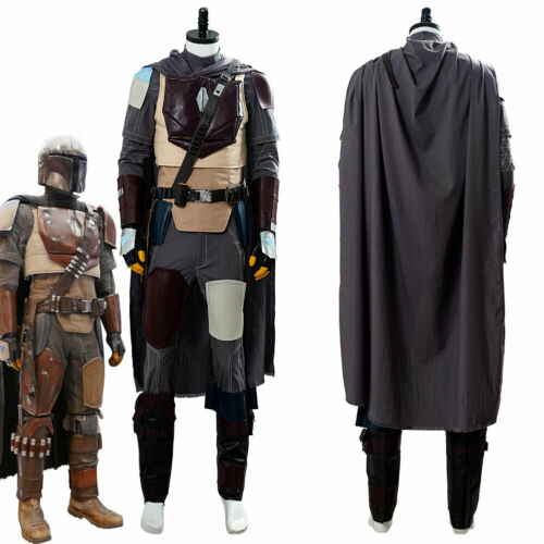 Star Wars The Mandalorian Cosplay Costume Halloween Outfit Uniform Suit Full Set
