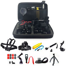 GSH 9in1 Head Chest Monopod Pole Mount Accessories for GoPro 1 2 3 4 Session Camera