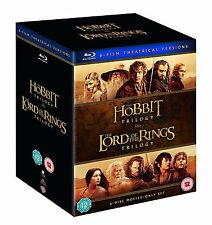 Middle Earth Collection Lord of the Rings Hobbit Trilogy (Blu-ray) BRAND NEW!!