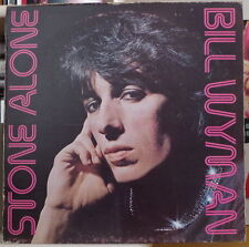 BILL WYMAN STONE ALONE FRENCH LP ROLLING STONES RECORDS RECORDS 1976