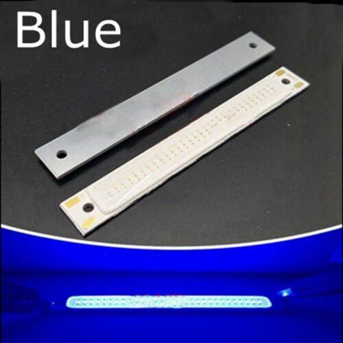 60x8mm Rot Blau Kalt Warmweiß COB LED Licht 70LM Strip Panel 3V 3W Home