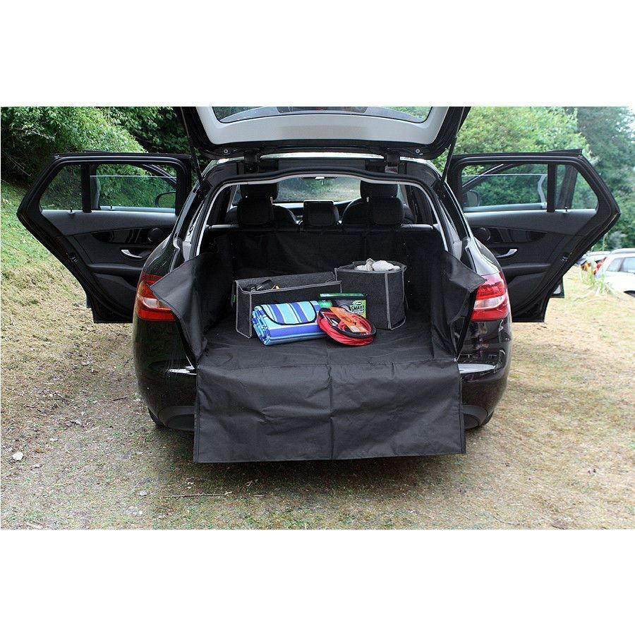 UKB4C Heavy Duty Water Resistant Car Boot Liner Mat Bumper Protector for Ceed All Years