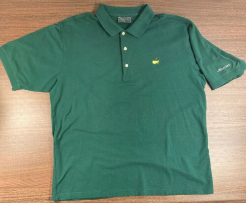 Masters Collection Green Masters Golf Polo men's X