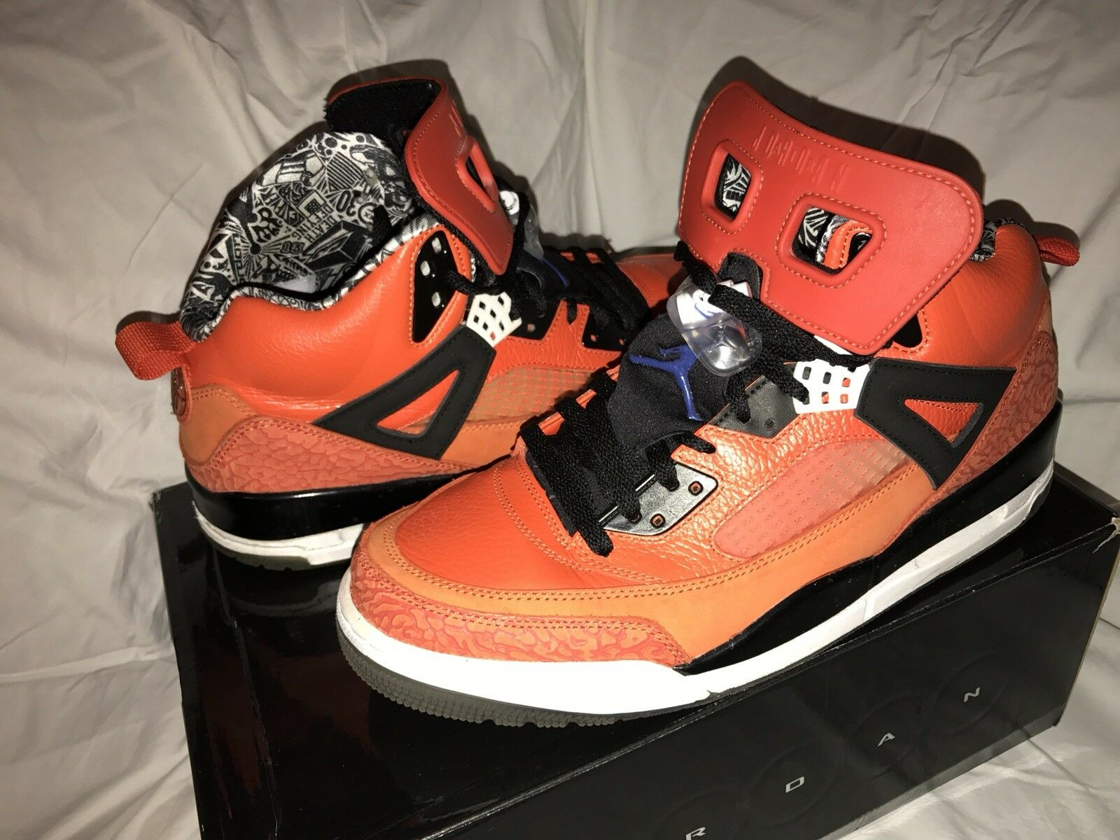 Air jordan Orange Spizike Knicks Orange jordan Größe sz 12 49c10f