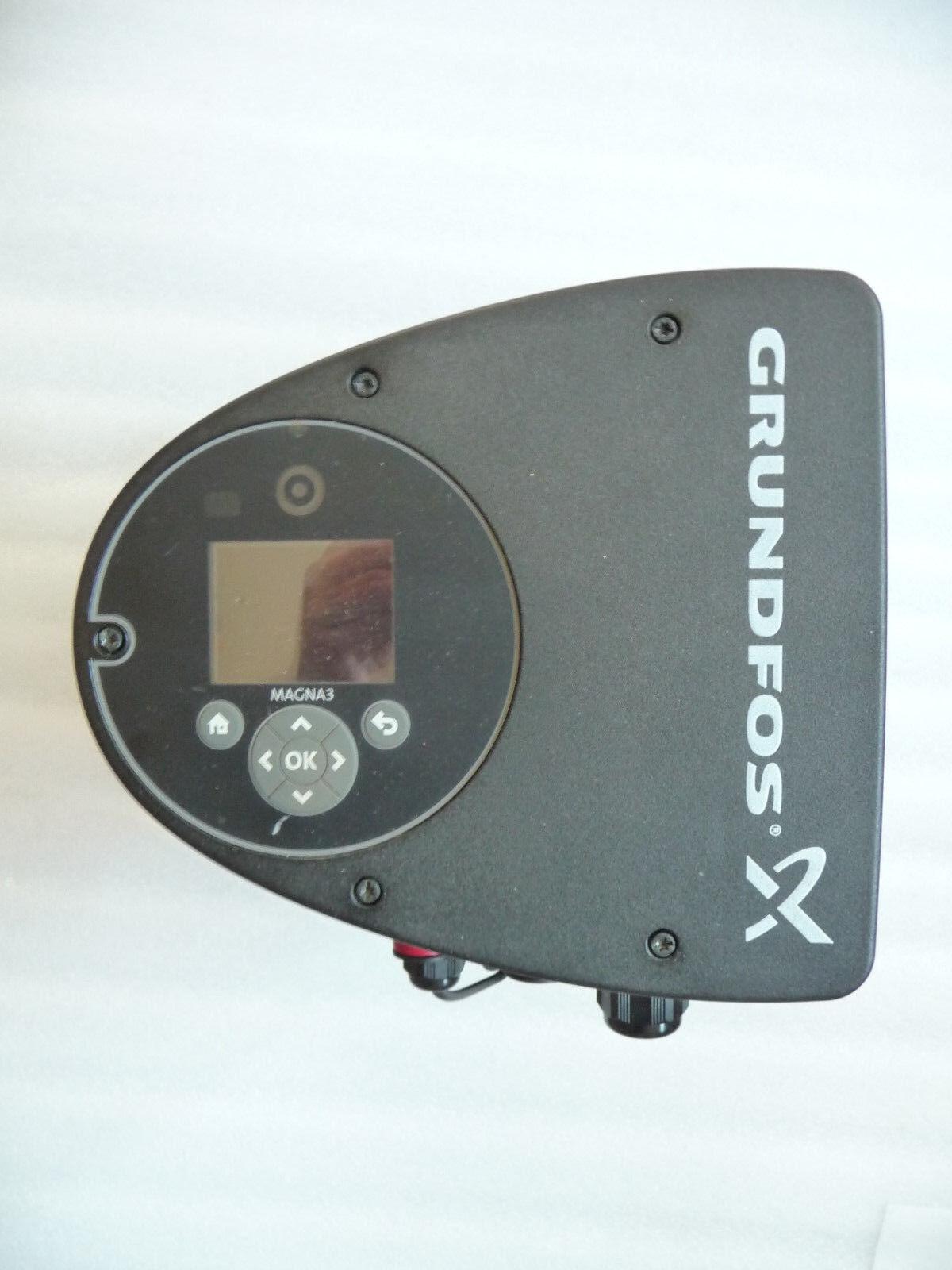 Grundfos Magna3 50 - 60 F 97924281 Heizungspumpe 230 Volt gebraucht 240 mm P37