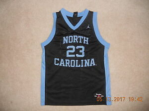 1c35aeacb423 Nike UNC North Carolina Tar Heels  23 Michael Jordan Brand Jersey ...