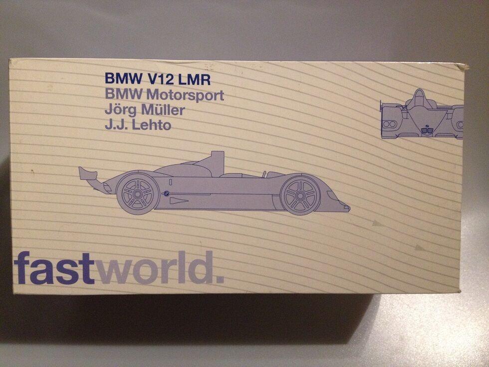 la calidad primero los consumidores primero 1 18 BMW V12 LMR  KYOSHO 80430018218 80430018218 80430018218  ¡no ser extrañado!