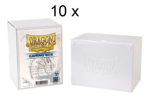 cartes 200053 10 x Dragon Shield Gaming Box deckbox boîte de rangement pour 100