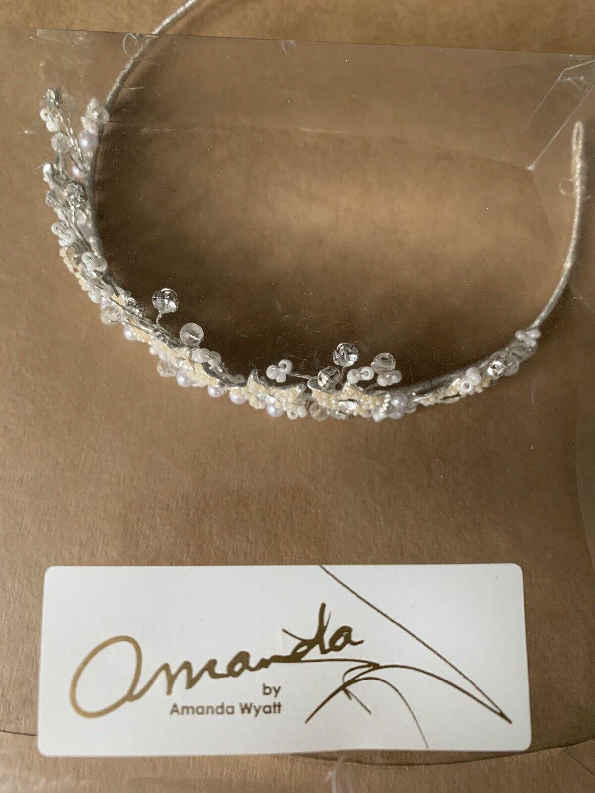 Wedding Brides Headwear Amanda Wyatt Tiara