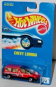 Hot-Wheels-Chevy-Lumina-Van-BW-039-s-Blue-Card-Collector-126-Malaysia-1992