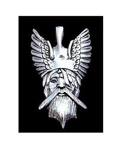 Liefern Anhänger Odin In Hochwertigem 925 Sterlingsilber! + Gratis-schmuckband! GüNstigster Preis Von Unserer Website