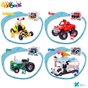 RP2-ODDBODS-BUBBLES-FUSE-POGO-ZEE-amp-CAR-034-Action-Vehicle-Set-Chuddiki