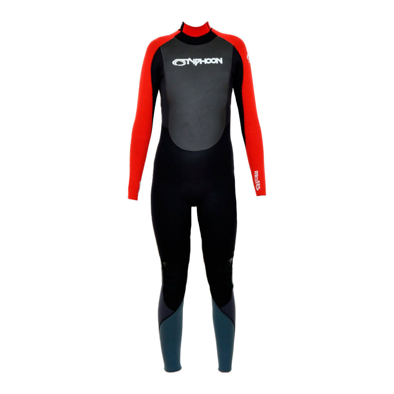 Typhoon Storm Boys 5mm Winter Wetsuit - Red