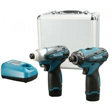 Makita LCT204 Cordless 10.8V Li-ion 1.3Ah DF330D TD090D Combo Set / 220V Charger