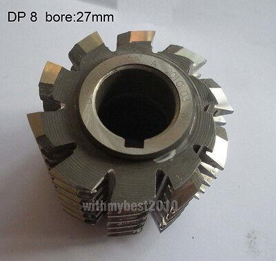 Lot 1pcs HSS Involute Gear Hob M2.5 Bore 27mm 30 Degree PA Class A Gear Cutter