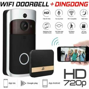 Smart-Wireless-Phone-Door-Bell-Camera-WiFi-Smart-Video-Intercom-Ring-Doorbell
