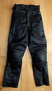 Baby-Biker-Twin-Zip-Leather-Childs-Toddler-Motorbike-Trouser-Black-Long-Leg-T