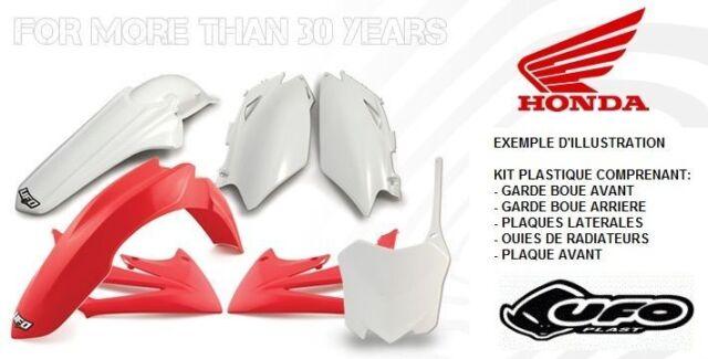 Kit plastiques UFO pour HONDA CR125R 2004 / CR250R 04 couleur Origine