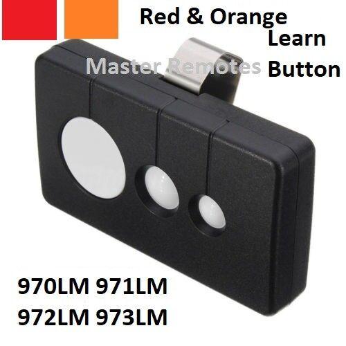 Sears Crafsman 3 Button Garage Door Opener Remote HBW1255 139.53680 390MHZ
