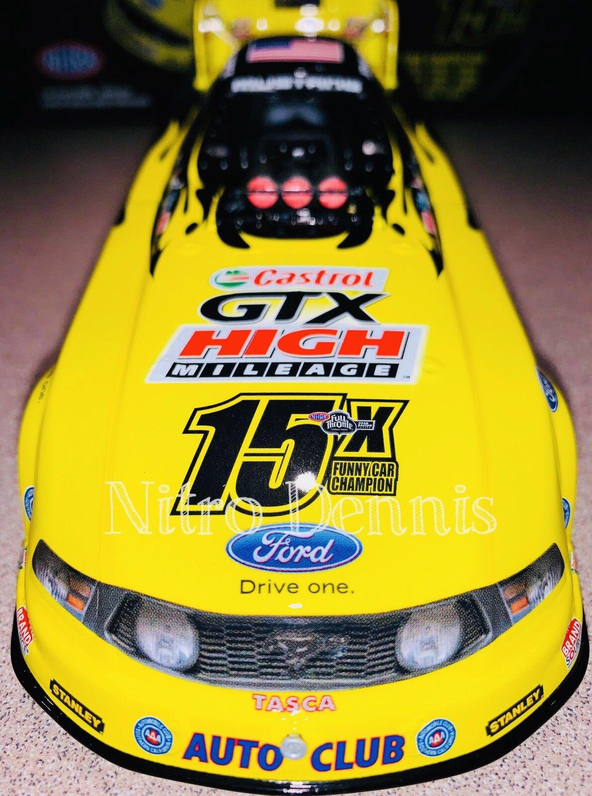 NHRA JOHN FORCE 1 24 Diecast NITRO Funny Car 15X Champ INDY Drag Racing 2011