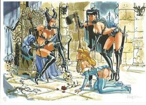 Felix-Meynet-ex-libris-BDSM-fetish-n-6-Sleeping-Beauty