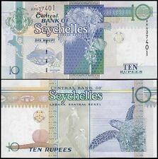 Seychelles 10 Rupees, 2013, P-36c, UNC