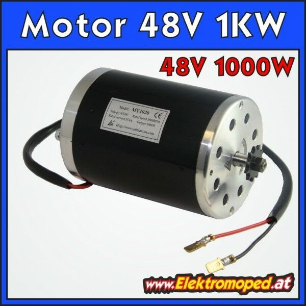 Scooter eléctrico pieza de recambio Engine   Motor 48V 1000W Model MY1020