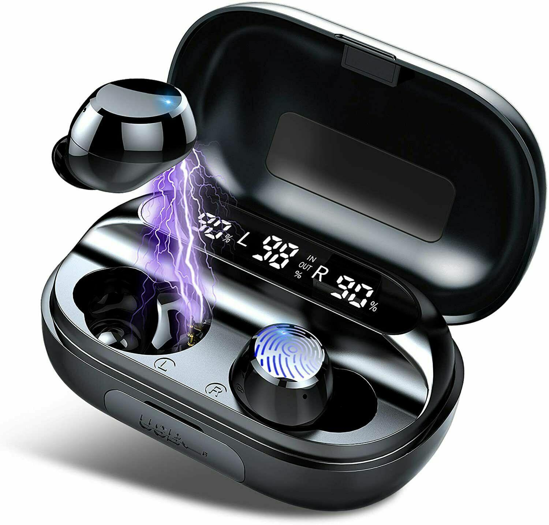 ⭐⭐⭐⭐⭐DESDE ESPAÑA- Auriculares Bluetooth 5.0 Inalámbricos Deportivos In Ear